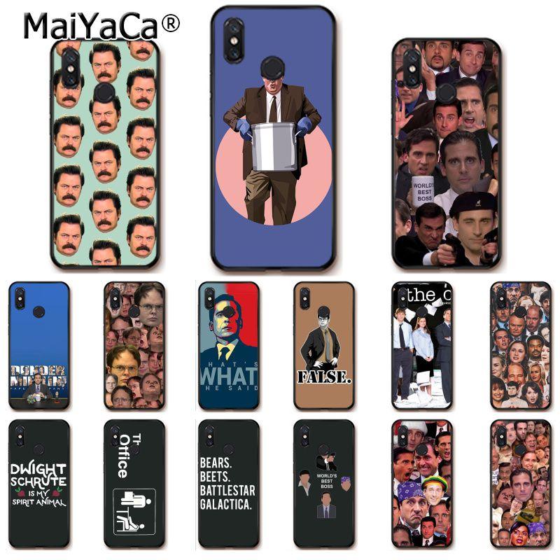 Чехол для телефона MaiYaCa The office tv show What She Said для Xiaomi Redmi8 4X 6A 9 8A Redmi 5 5Plus Note7 8Pro 7A 6A 9 9pro