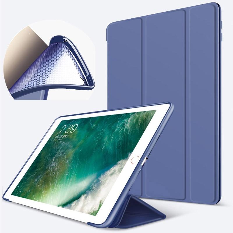 PU Leather Case For iPad Air 4 3 2 1 Pro 10.5 11 9.7 Funda Soft silicone Back Case For iPad 7th 8th 10.2 Mini 5 4 3 2 2017 2018