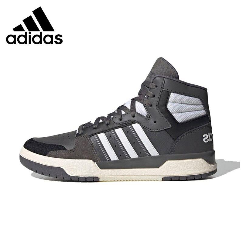 وصل حديثًا حذاء رياضي أصلي من Adidas للرجال بتصميم متوسط الارتفاع لرياضة التزلج