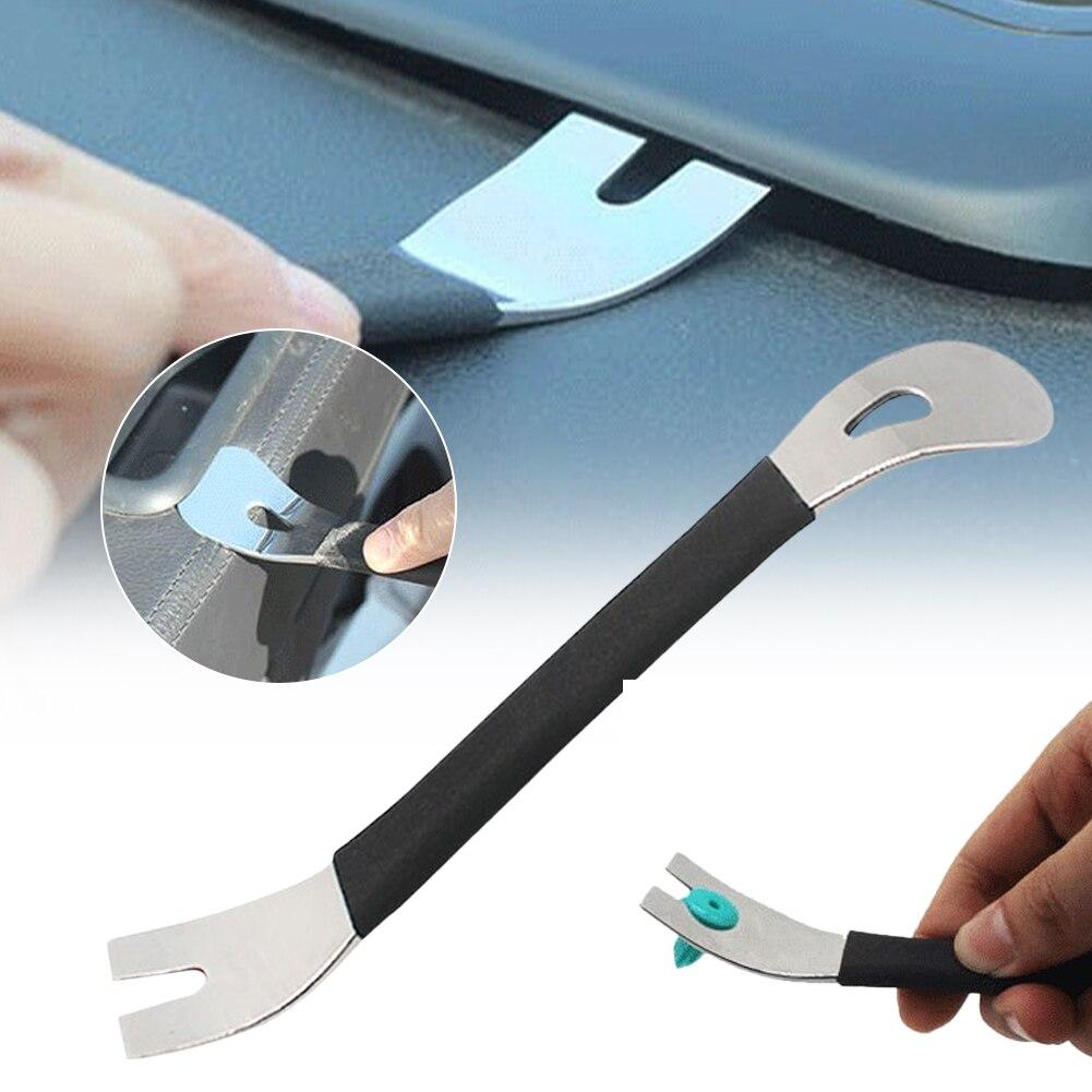 Инструмент для снятия отделки из нержавеющей стали, съемник для автомобильной отделки, рычажный стержень с двумя концами, инструменты для у...