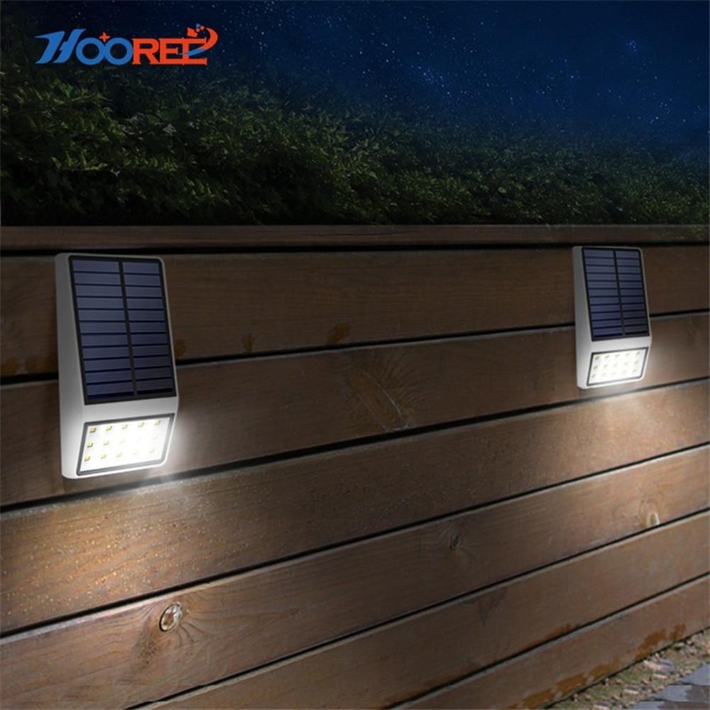 led lights Solar Radar detector Light Outdoor Waterproof Energia Solar Lamp Garden Pathway Yard Wall Lamp Microwave Induction enlarge