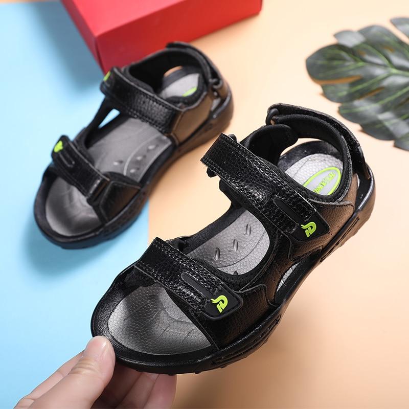 Boys'Sandal 2021 summer new style children's fashion soft-bottom children's school children's Korean