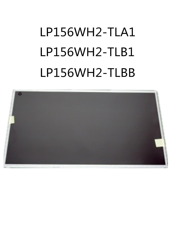 Original LP156WH2 TLA1 LP156WH2 TLB1 LP156WH2 TLBB Taptop pantalla LCD de 15,6 pulgadas 60Hz lcd pantalla de matriz para ASUS Dell Acer