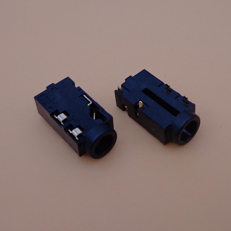 Para Toshiba C850 C50 L850 L850D C870 L870 C855 L855 L875 de interfaz de Audio de auriculares jack pares Puerto hembra enchufe serie