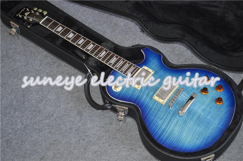 China OEM Suneye Guitarra eléctrica estándar incrustación perla Guitarra mástil palisandro Kit...