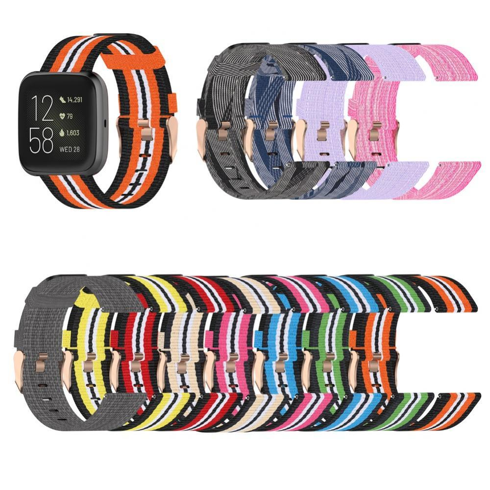 23mm Replacement Universal Watch Strap Watchband for Fitbit Versa 2 Lite Blaze Wearable Devices Smart Accessories