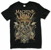 machine head heavy lies the crown black t shirt new official mh band merch