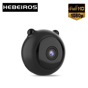 Hebeiros HD 1080P Rechargeable Battery Wifi Camera Motion Detection With Audio CCTV Security Sureveillance IP Camera DV Recorder
