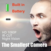 Mini Camera XD IR-CUT Smallest Full HD 1080P Home Security Camcorder Infrared Night Vision Micro cam