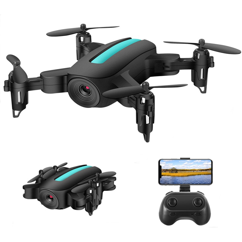 Mini Drone 1080P 720P HD Camera WIFI FPV Altitude Hold Aerial Live Video Dron Foldable Quadcopter Durable Rolling 360° RC Drones