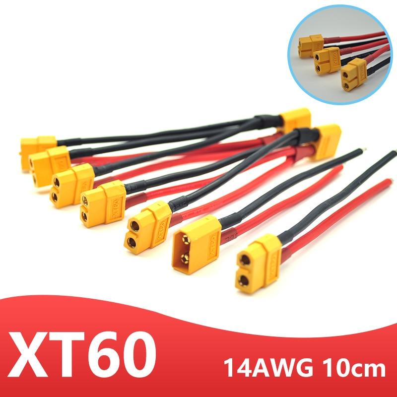 Conector de batería paralelo XT60, Cable macho/hembra de doble extensión Y divisor/3...