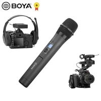 boya by wm8 pro k1 k2 wireless microphone transmitter receiver kit for live stream conference eng efp dslr video recording mic