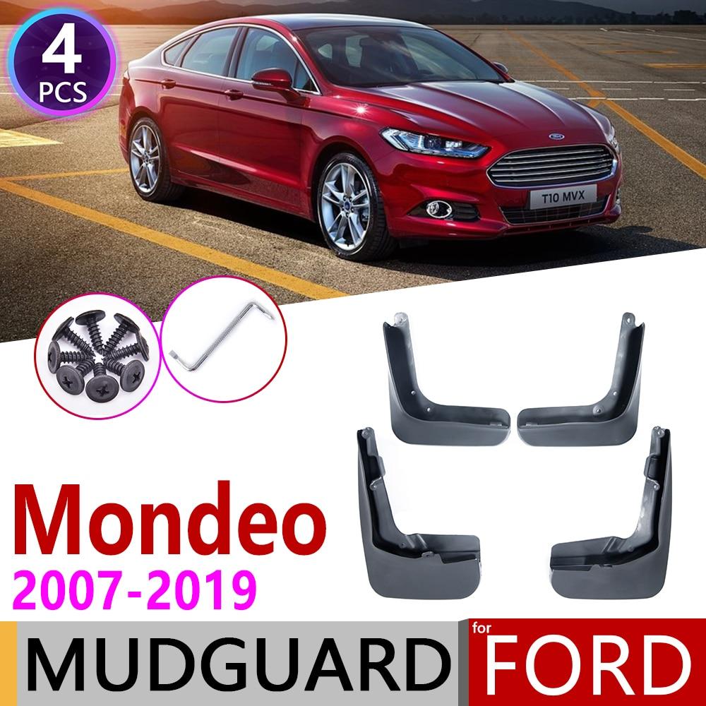 Для Ford Mondeo MK4 MK5 2007 ~ 2019 Fusion CD391 брызговики брызговик всплеск клапаном аксессуары для брызговиков 2009 2010 2015 2018