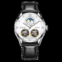 DOM Mechanical Watches Men Skeleton Watch Automatic Mechanical Mens Watches Waterproof Self-winding Clock Stainless Steel didun