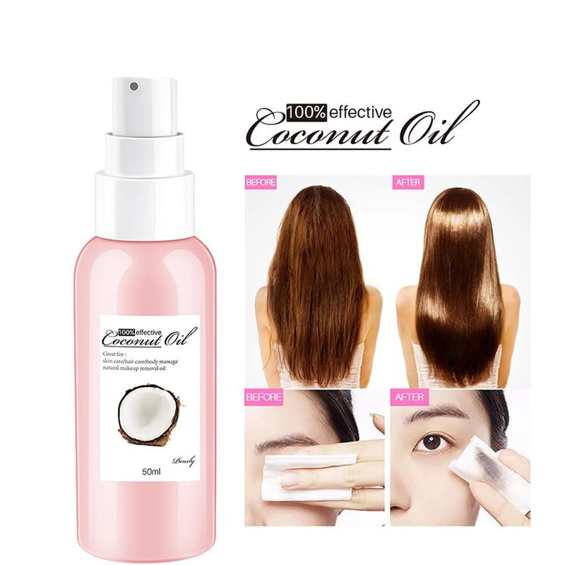 Multifunctional Coconut Moisturise Hair Keratin Essential Oil Natural Argan Oil for Skin Moisturizing Hair Care Essence