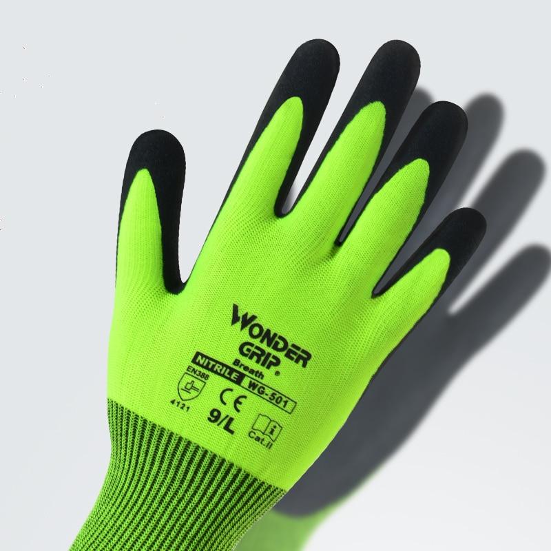 Guantes de jardín, guantes de caucho de nitrilo para jardinería, - Herramientas de jardín - foto 5