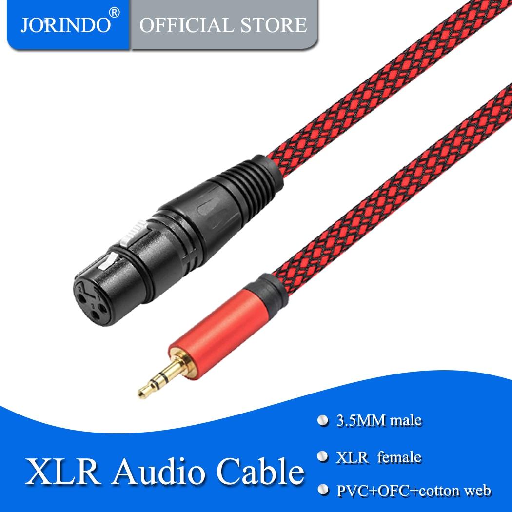JORINDO 3 M/9.8FT 3,5 MM macho a XLR Audio cable XLR 3...
