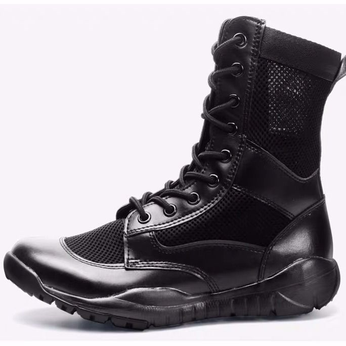 2021 Summer outdoor ultra-light combat tactical military shoes high help army male special forces Marine network training boots