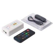 WS2812B WS2811 WS2813 1903 tira de LED/Panel Bluetooth música sueño Color CSY08 controlador 13 teclas RF remoto 512 píxeles