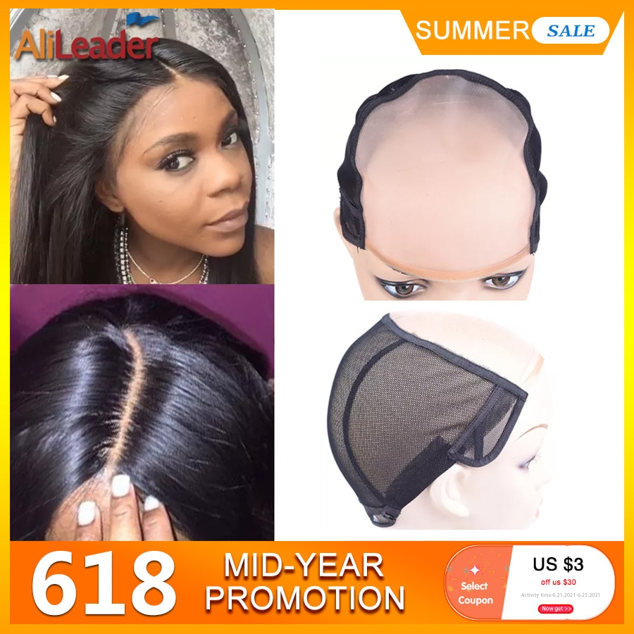AliExpress - Alileader Popular Mono Wig Caps For Making Wigs Wig Accessories Tools For Women Invisible Hair Nets Good Quality NetsS/M/L Size