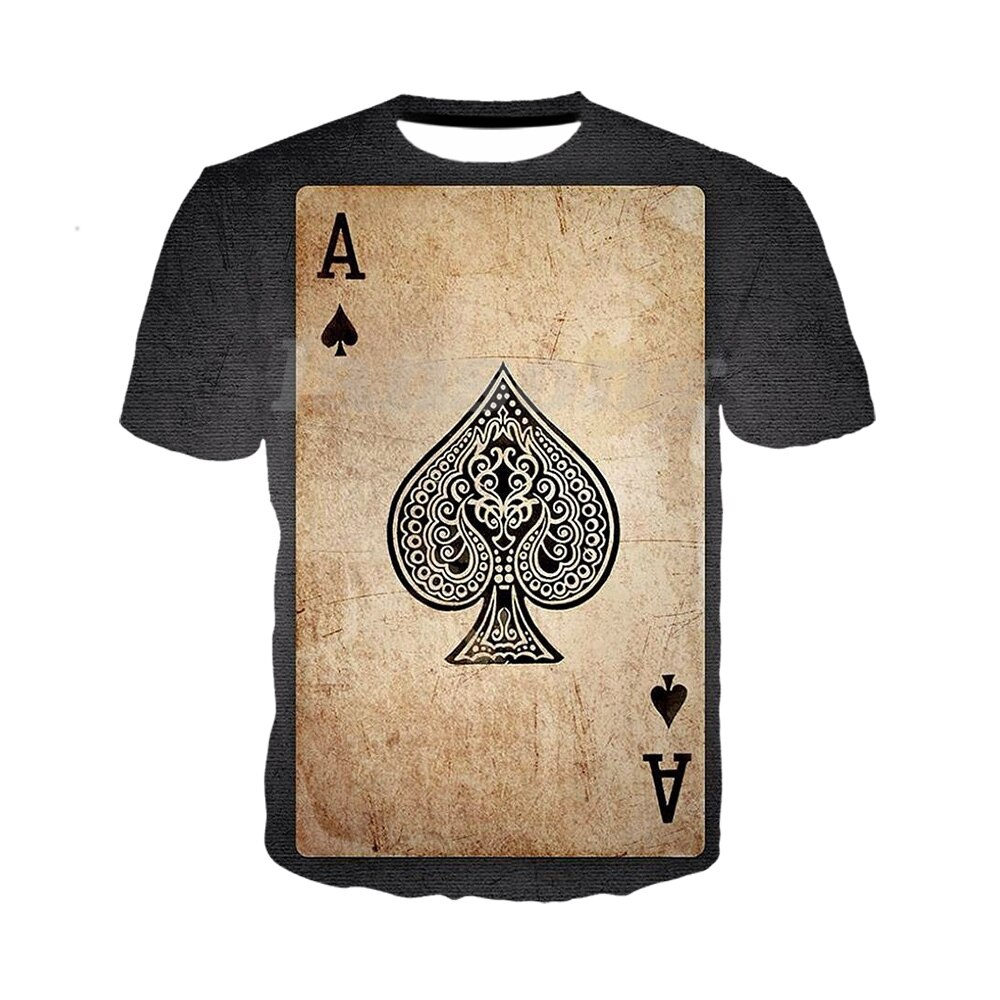 Spades Ace A3d print t shirts/sweatshirts/hoodies/pants fashion men harajuku tracksuit funny tee streetwear hip hop summer tops