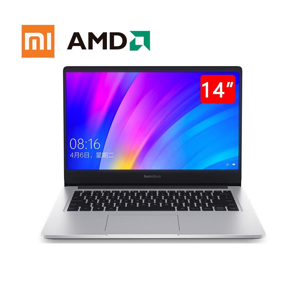Mi portátil redmibook 14 polegadas tela ryzen 7 3700u ddr4 16gb ram mi notebook xiaomi laptops