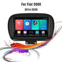Автомобильный мультимедийный плеер easteregg, 9 дюймов, 2 din, Android, GPS навигация для Fiat 500X 500X2014 2019, головное устройство, автомобильная стереосистема