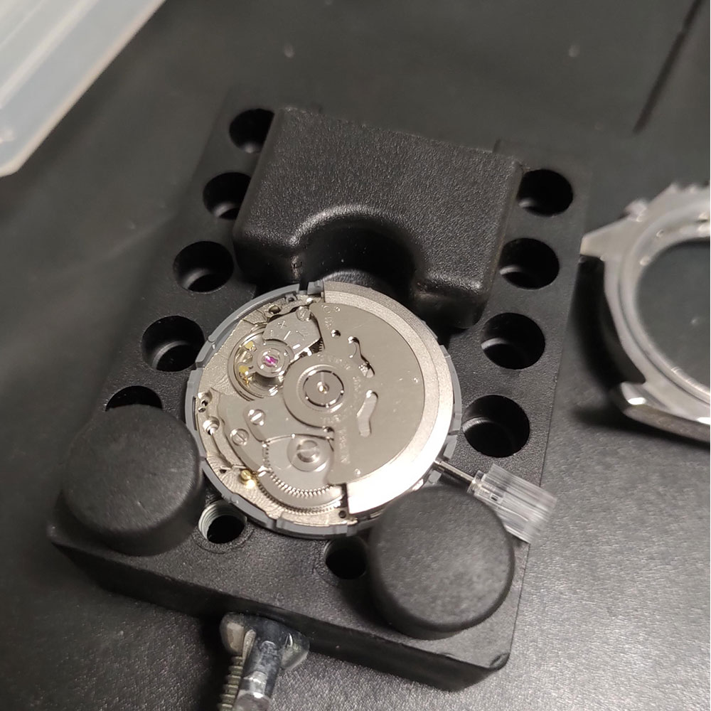 Japan Original SII NH36A Aka NH36 Mechanical Movement Week/Date 4R36A With White High Accuracy Automatic Self-Winding Movt enlarge