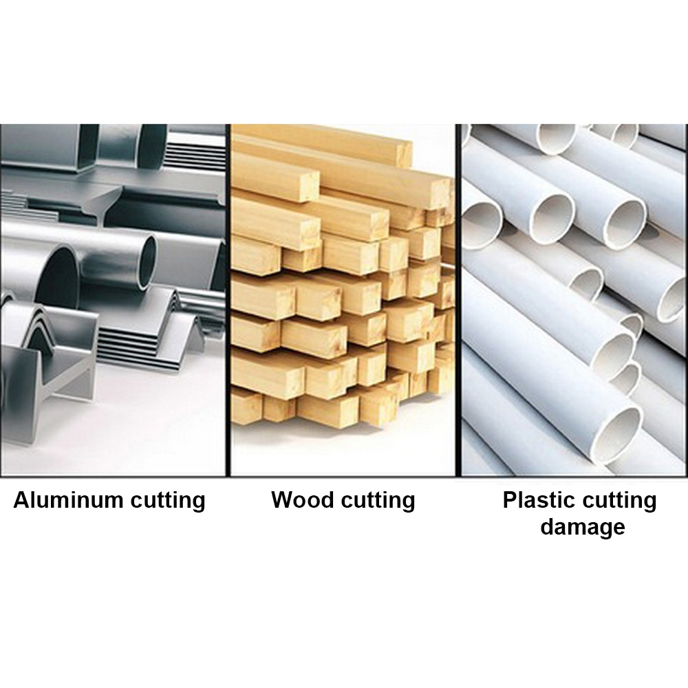 Full Blade Aluminum Sawing Machine Electric Table Multi Function Aluminum Profile Wood Cutting Power Tool Aluminum Machine enlarge