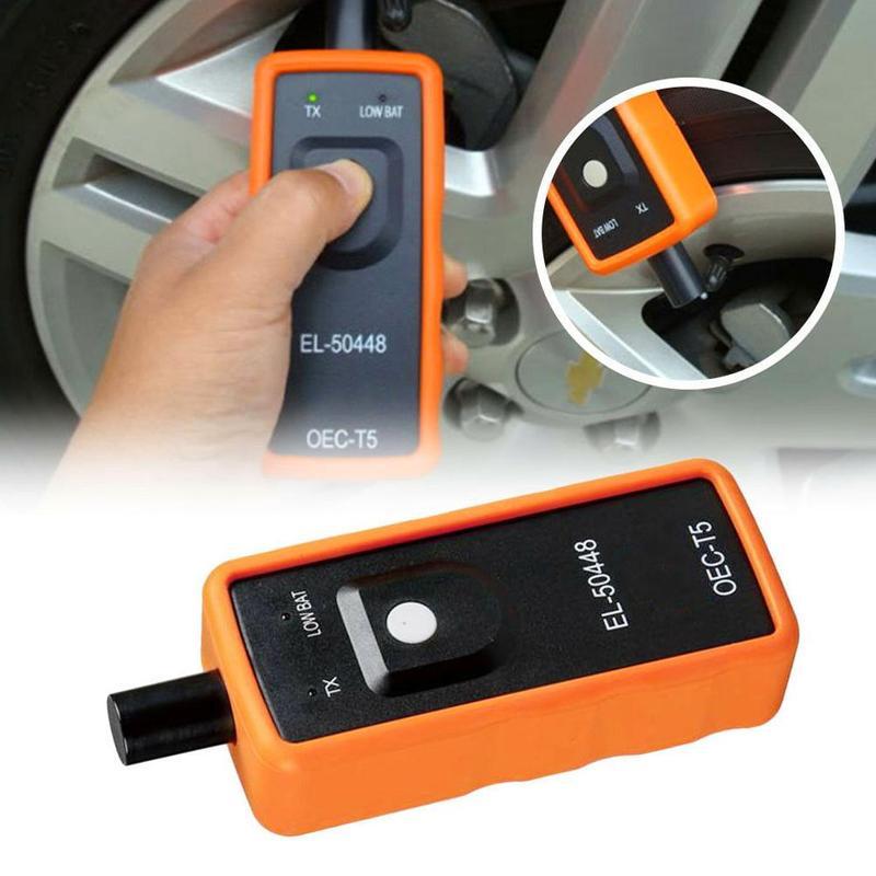 Instrumento portátil de reinicio de presión de neumáticos para General Buick Auto Sensor de monitor de presión de neumático herramienta de diagnóstico accesorios de coche