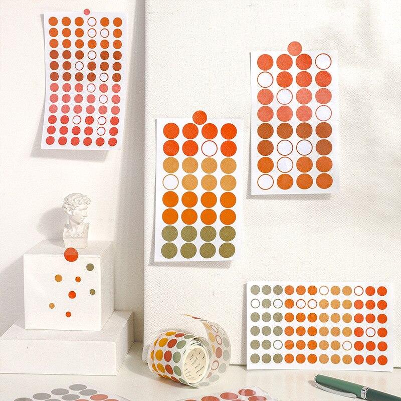 Mohamm 3Pcs Practical DIY Decoration Paper Sticker Creative Scrapbooking Stationary School Supplies