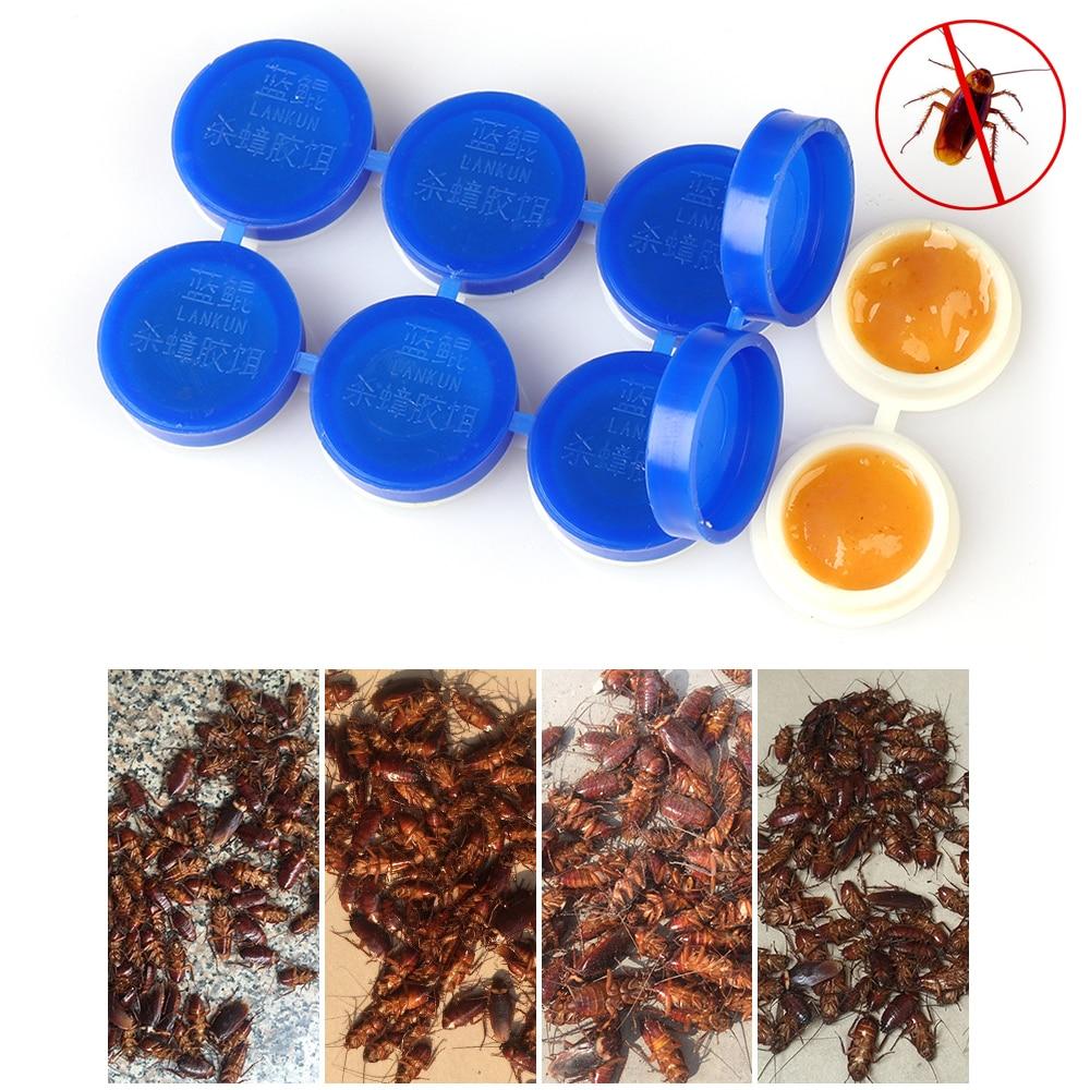 8 Uds. Potente repelente Anti cucarachas en polvo, plagas, pesticida, cebos, venenos, insectos, Mata, drogas, suministros para el jardín