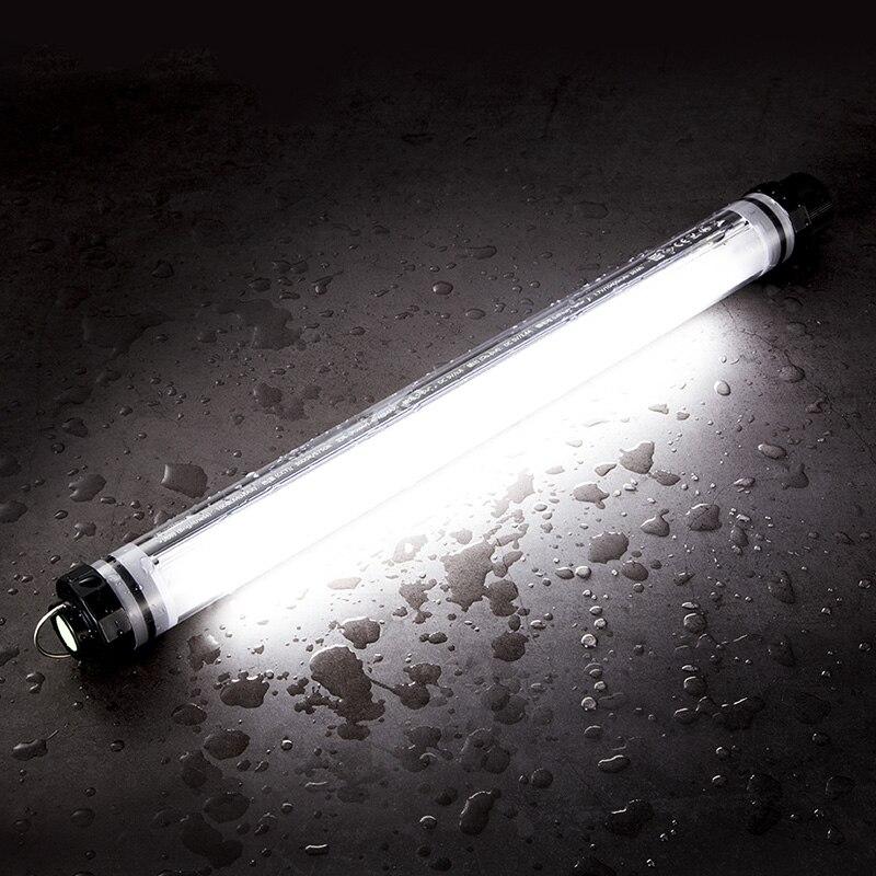 LED Camping luz inalámbrica USB recargable sombrilla Parasol tienda de campaña Luz de inspección del coche Lámpara de trabajo para la pesca