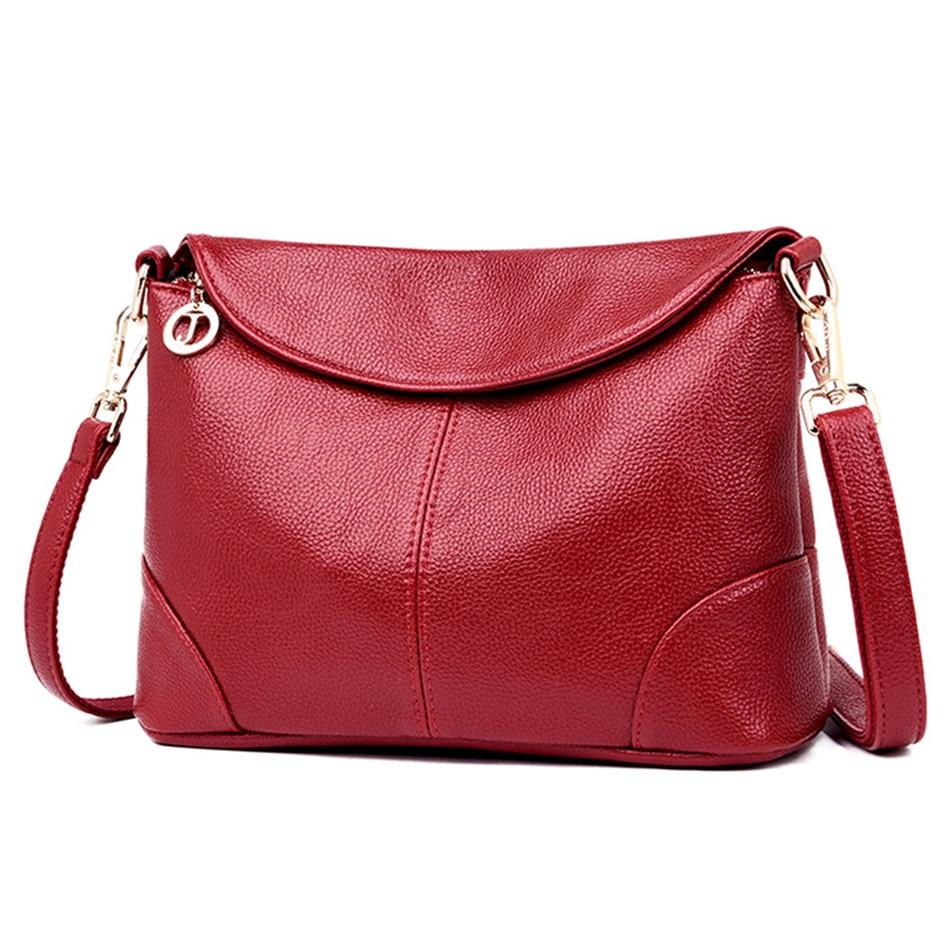 Leather Luxury Women Handbags Designer Messenger Bag Small Ladies Shoulder Hand Crossbody Bags For Women 2020 bolsas de mujer