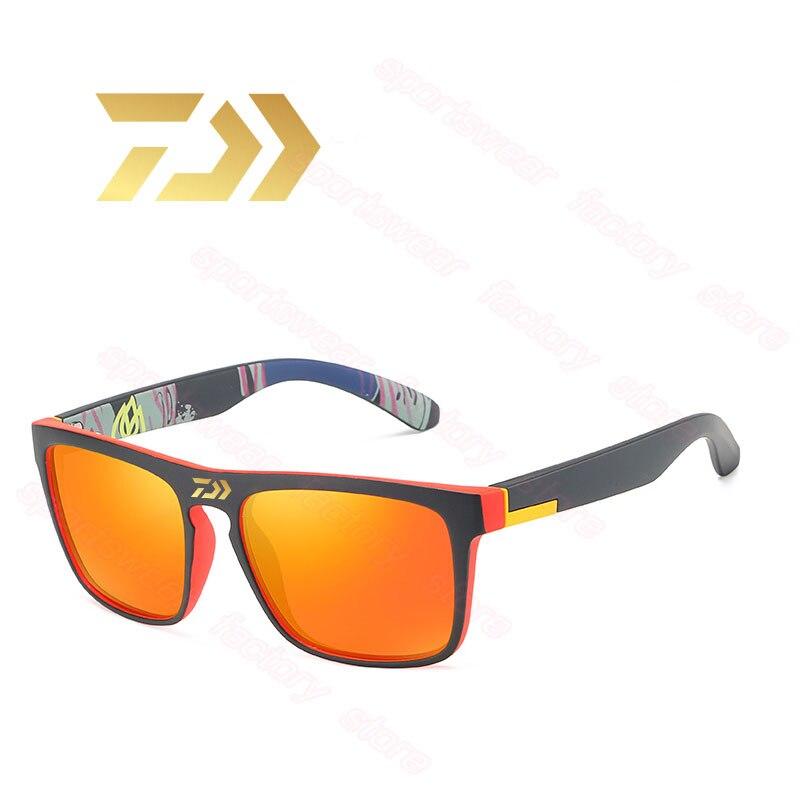 Дахэ новые мужские поляризованные солнцезащитные очки маскирующие солнечные очки с цветными пленка Спортивные очки для рыбалки упругая кр...