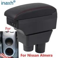 for nissan almera armrest for nissan almera versa car armrest box storage box ashtray decoration refit accessories