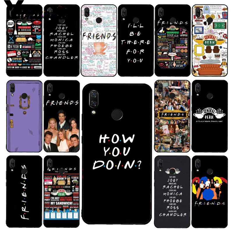 Yinuoda Central Perk café amigos tv show funda de teléfono para Xiaomi Redmi8 4X 6A S2 ir Redmi 5 5Plus Note8 Note5 7 Note8Pro