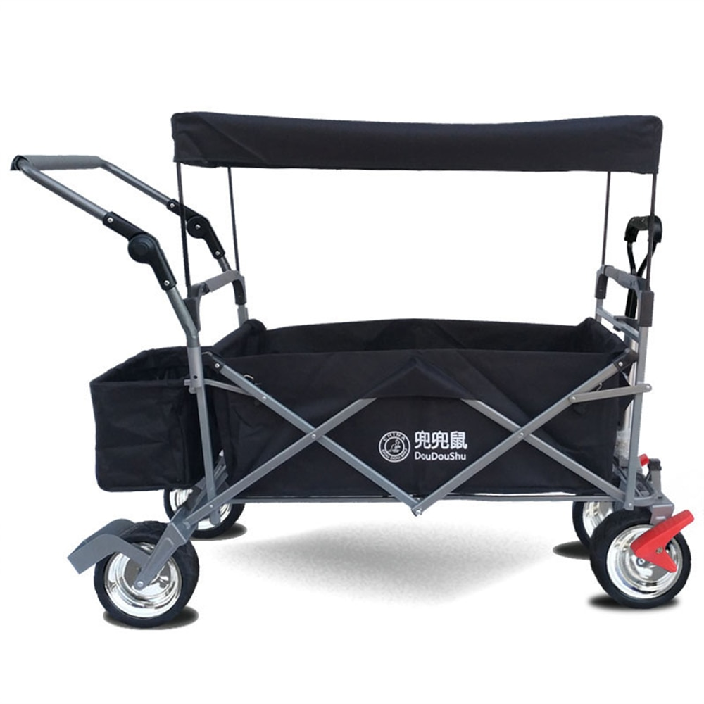 Stroller Wagon with Canopy & Other Accessories Included Pull/Push Stroller Ideal for Special Needs Family Outdoor Events