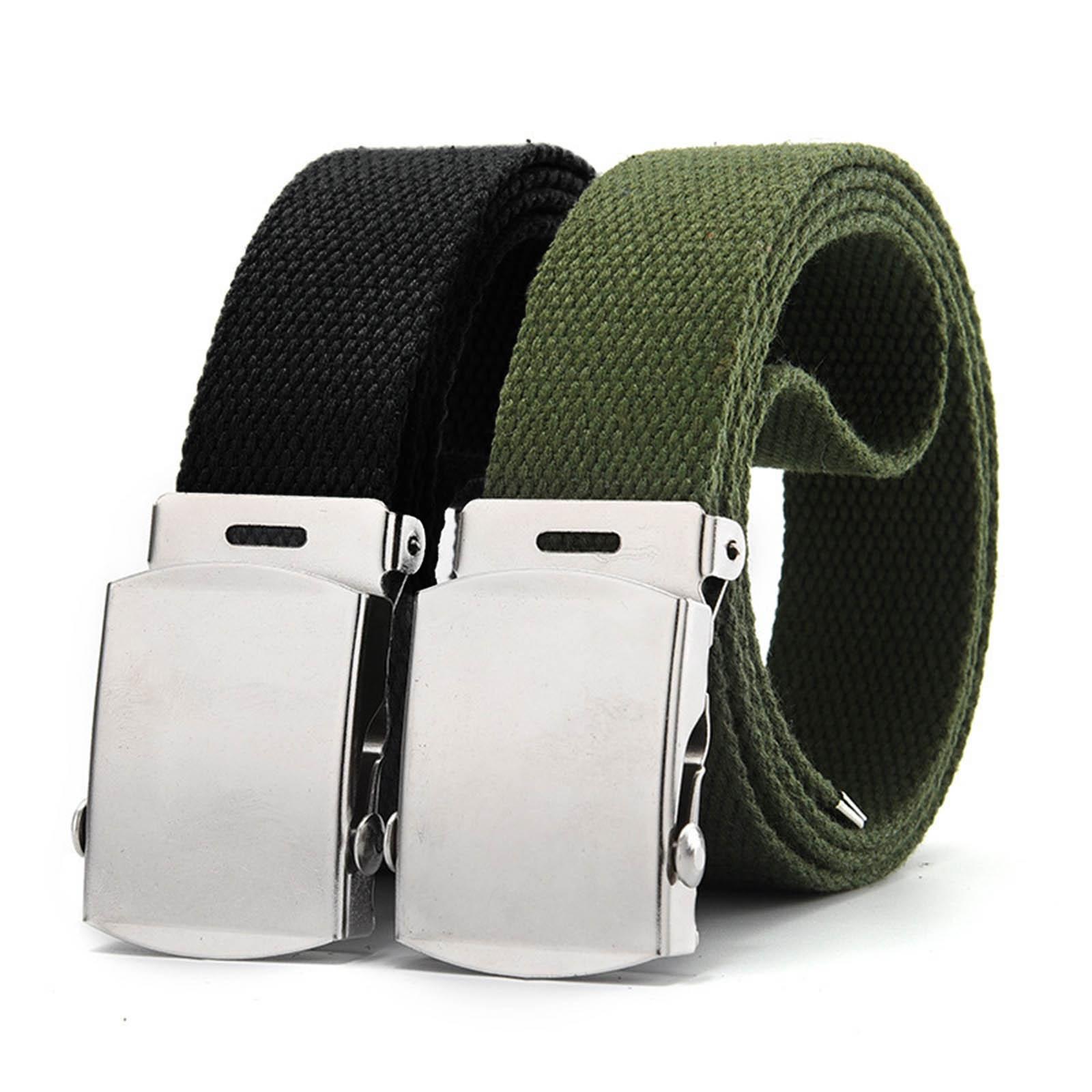 AliExpress - 2021 New Canvas Military Web Belt Metal Roller Buckle Mens Womens Causal Cloth Decor Jeans Accessories Ремень Женский