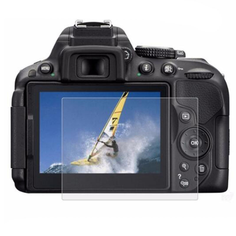 Protector de pantalla de vidrio templado para Nikon D3200, D3300, D3400, D5300, D5500, D5100, D600, D610, D810, D7000, D7100, D7200, D7500, D800, Z6 y Z7