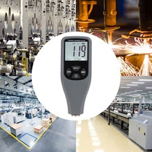 RZ240 Circuit Board Backlight Car Paint Meter Portable Coating Thickness Gauge Digital Display LCD Fe NF Mini Instrument Film
