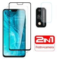 case on honor 9x lite cover tempered glass screen protector for huawei honor9x light 9xlite 9 x x9 protective phone coque honer