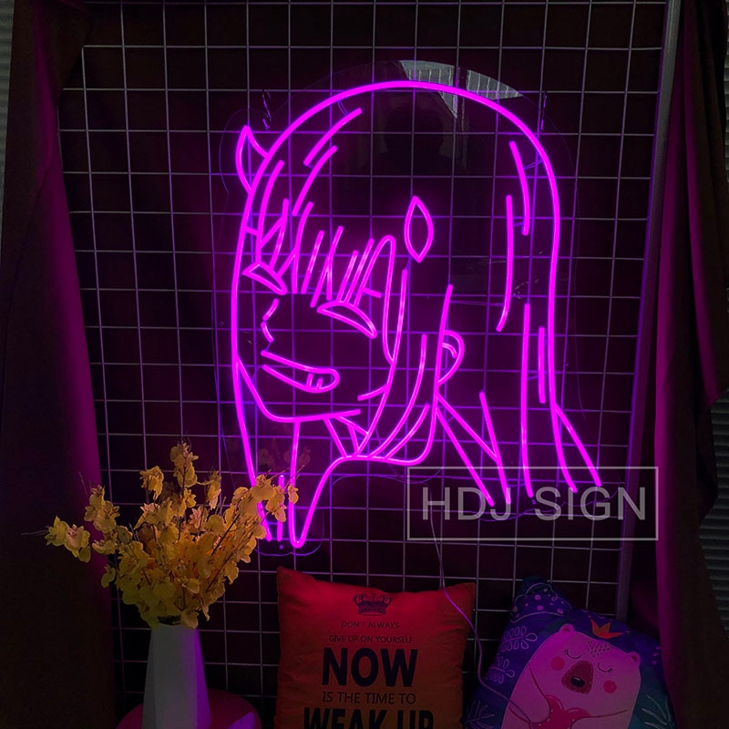 Lady Head Neon Sign Room Decoration Bar Birthday Party Christmas Restaurant Wall Daughter Woman LED