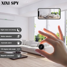 Mini caméra wifi IP hd caméra secrète micro petit 1080p sans fil videcam maison extérieure XIXI espion