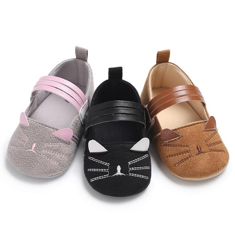 Фото - Детские мокасины для новорожденных, детская обувь для девочек, вечерняя Обувь для принцессы, фаллоимитация кота, обувь для новорожденных де... chicco обувь для новорожденных