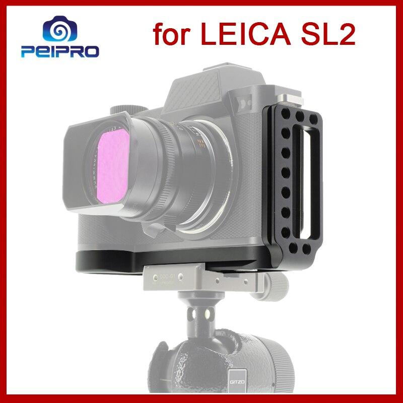 Peipro-لوحة L لكاميرا Leica SL2 ، سبائك الألومنيوم ، تحرير سريع ، حامل لوحة L