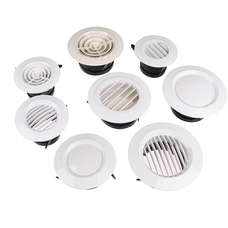 1 шт. регулируемая крышка для вентиляции, круглая потолочная сетка с отверстием для вентиляции, эргономичная кухонная система для вентиляци...