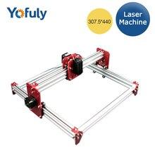Neue DIY Desktop Mini Laser Gravur Maschine BENBOX A3 Software 500 mw/1000 mw 2500 mw/5500 mw 3040 metall Frame Gute Spielzeug