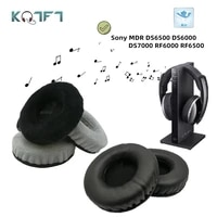 kqtft replacement ear pads for sony mdr ds6500 ds6000 ds7000 rf6000 rf6500 headset earpads earmuff cover cushion cups