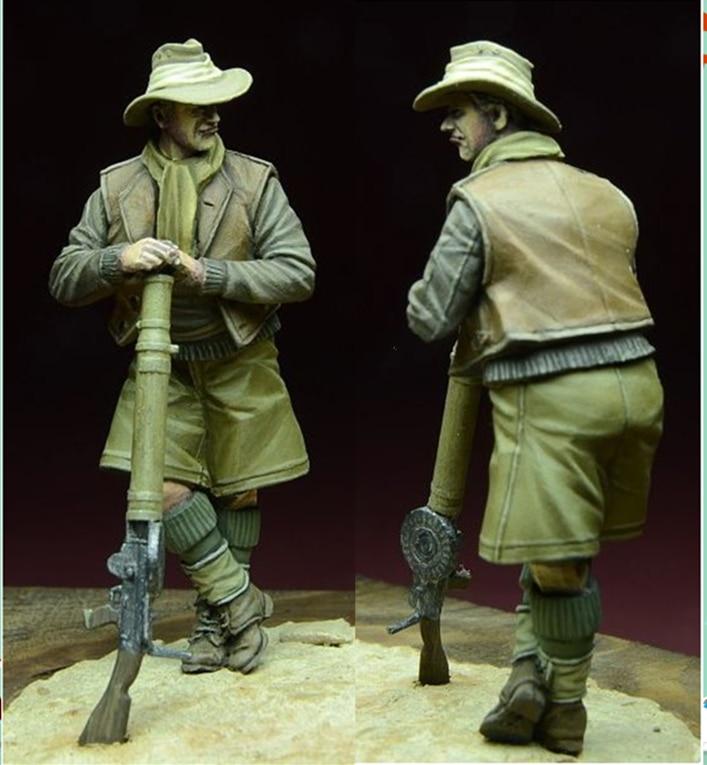 1/35 resina figura modelo kits 1 figuras sem pintura 913